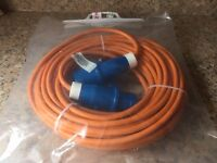 Caravan/Motorhome mains hook up cable, 25mtr
