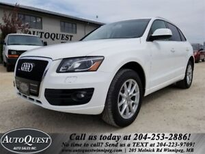 2010 Audi Q5 Premium - PANO SUNROOF, LEATHER, BLUETOOTH & MORE!