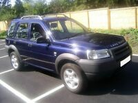 ---LANDROVER---FREELANDER---LOW MILEAGE---(*very good condition for year*)---(needs to go)---