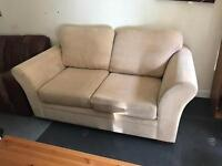 Cream fabric sofa from NEXT just been fully cleaned
