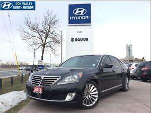 2014 Hyundai Equus ULTIMATE - NAVIGATION, REAR SEAT CONTROLS