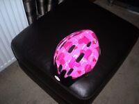 girls bell cycle helmet
