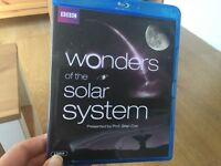 BBC Wonders of the Solar System BLU RAY presented by Brian Cox