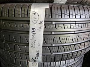 1 summer tire Continental 255/50r19 4x4