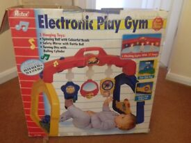Electronic Play Gym