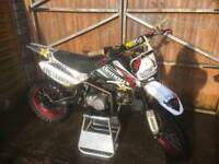 Stomp demon x 140cc pitbike