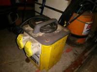 110v transformer and 1 Inch sub pump