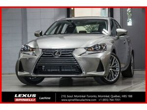 2019 Lexus IS 300 LUXE AWD; CUIR TOIT GPS ANGLES MORTS LSS+