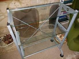 Glass Display Shelf Unit