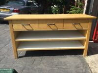 Ikea Freestanding Unit 3 Drawer and shelves