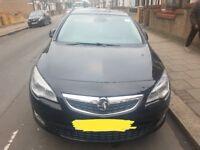Vauxhall Astra Black 1.6 2010 Elite Model. Manual. Alloy wheels. Parking sensors. GOOD CONDITION.