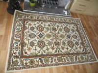 rug, Chez Toi traditional style, 100% wool, ivory rug