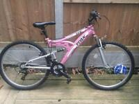Girls Apollo Trax bike