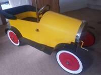 Vintage Brum style pedal car