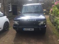 Landrover discovery td5 ES in running order m,o,t,July 18 tax in daily use