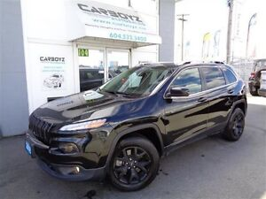2016 Jeep Cherokee North 4x4, V6, Pano Roof, Blacked Out