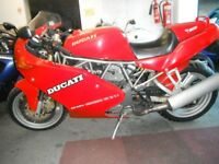 1994 Ducati 750ss - full MoT but needs some tlc to finish