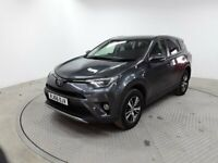 TOYOTA RAV4 D-4D BUSINESS EDITION TSS (grey) 2017