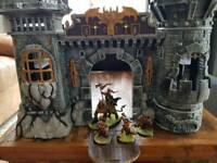 Model castle for wargaming / Warhammer