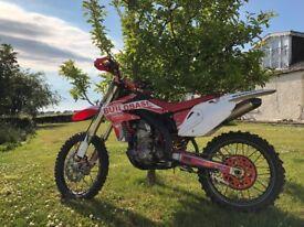 Honda CRF 450 R enduro