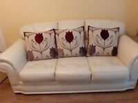 3 seater couch and armchair