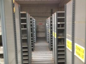 15 bays DEXION impex industrial shelving 2.1M high( storage , pallet racking )