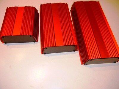 Aluminum Project Box Enclosure 5 X 5 X 2 Gk5-5 Red