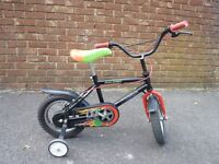 Raleigh 12inch Bicycle with Stabiliser