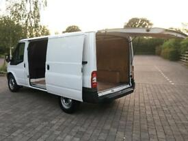 2007 Ford Transit 2.2 TDCi T300 130 BHP, MWB VAN, TAIL GATE, FULL HISTORY, NEW MOT, NO VAT