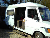 Mercedes 207D Campervan - LHD, Fully Equipped, Ready to Roll!