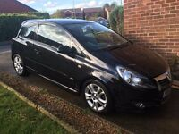 Black Vauxhall Corsa 1.4 i 16v SXi 3dr (2007 - 57 Plate) Good Condition with Service History