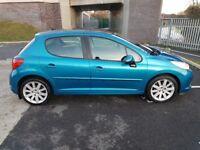 2007-Peugeot 207 1.6 GT HDI,12 months MOT,FSH,only 90000 miles