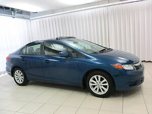 2012 Honda Civic EX 5SPD SEDAN w/ MOONROOF, ALLOYS & POWER GROUP