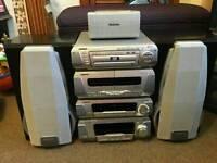 Technics 5 dvd surround system