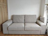 IKEA KIVIK two seat sofa