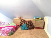 Semi double loft room available now