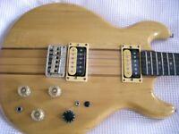 Kay thru' neck electric guitar - japan? - '80s - High end model