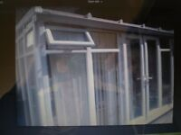 CONSERVATORY, LARGE, THREE SIDED, CASH OR BUILDING MATERIALS. PLEASE TEXT IF PHONING , I DRIVE .