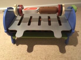 Wooden BBQ cooking set from ELC