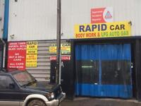 for sale bodywork&mechanic garage in edmonton