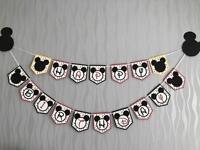 Mickey Mouse banner, 2 helium balloon