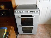 Creda/Hotpoint Freestanding Electric Cooker with Double Oven