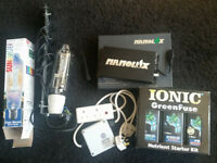 600W MH GROW LIGHT-NANOLUX DIGITAL BALLAST-MAXIBRIGHT RELAY & IONIC NUTRIENT STARTER KIT
