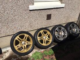 "subaru impreza lightweight alloy wheels 17"""