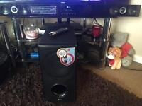 LG 300w sound bar system + subwoofer very good condition fully working