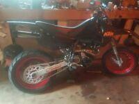 Ktm 620 supermoto motorbike swap small car