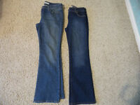 Levi's Low Boot Cut 545 size 10m ... and...Next Bootcut Size 12R