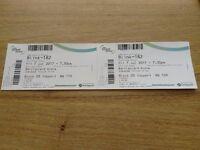 Blink 182 Tickets x2 seated, in Birmingham 07.07.17