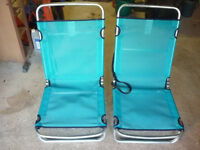 CAMPING CHAIRS ONE PAIR