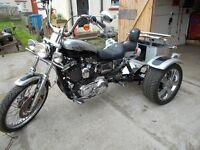 Harley Davidson 1200 Sportster Trike. PX bike